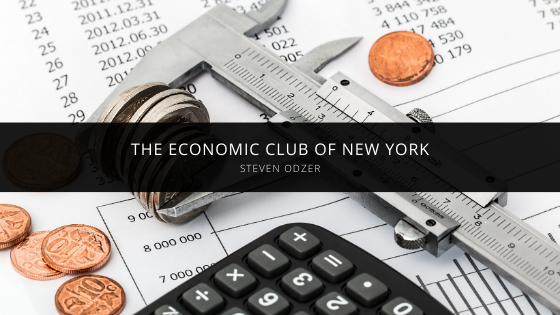 Steven Odzer's Success as a Member of the Economic Club of New York