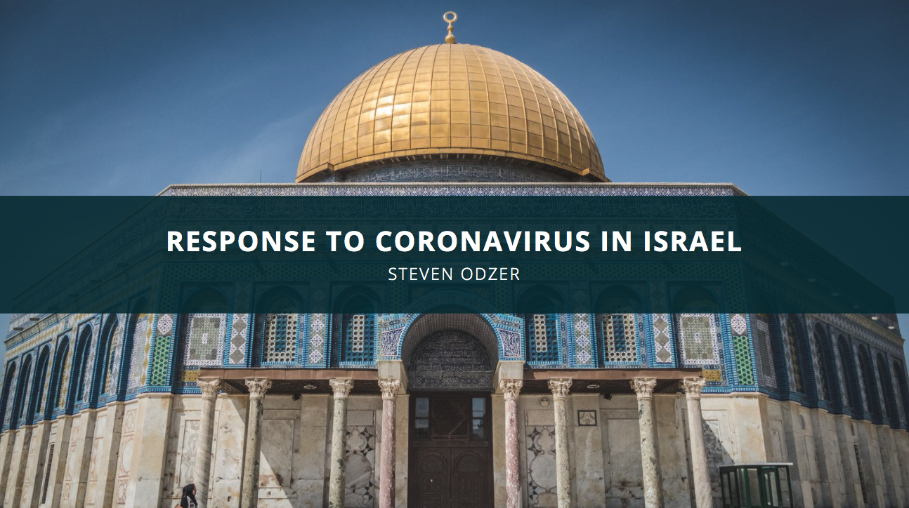 Steven Odzer Discusses the Response to Coronavirus in Israel