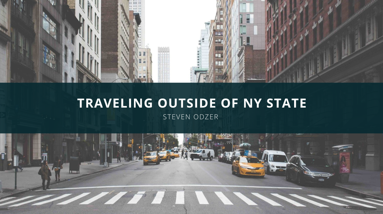 Steven Odzer Talks About Traveling Outside of NY State
